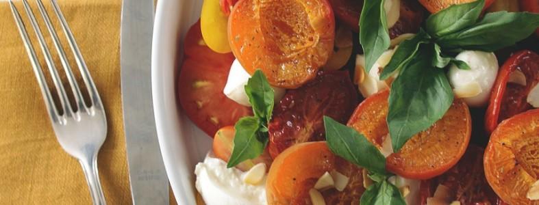 Tomaten Mozarella mit Aprikosen