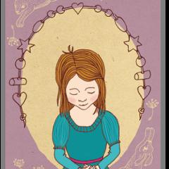 Mädchen_Postkarte