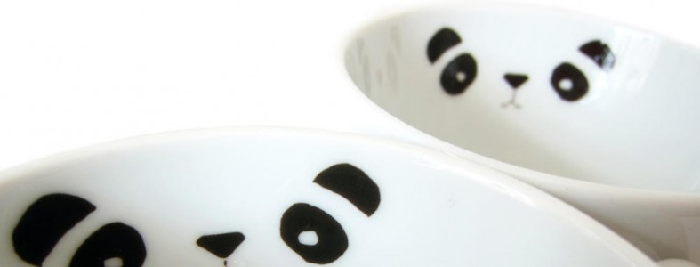 PANDA_Porzellan Sticker